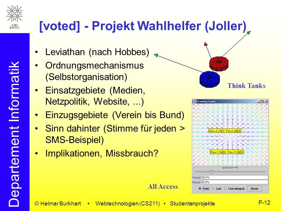 [voted] - Projekt Wahlhelfer (Joller)